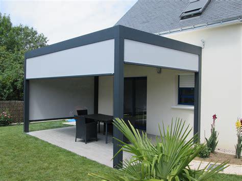la pergola alu le top pour une terrasse ou un jardin plus 233 l 233 gant decoration maison
