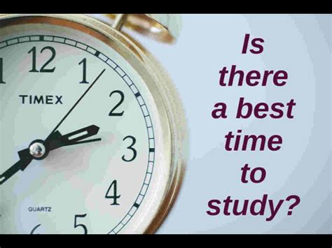 what is the best time to study careerindia