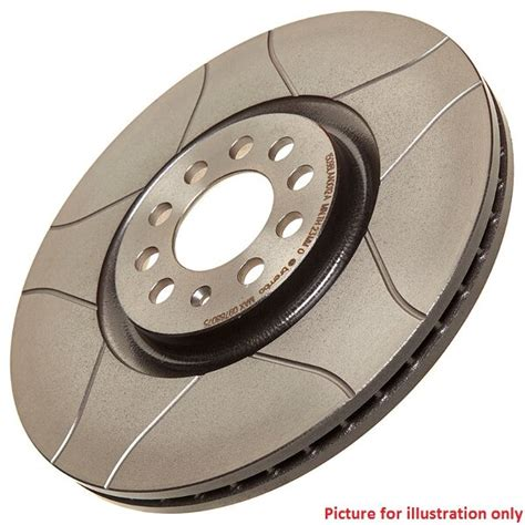 front performance high carbon grooved brake disc pair 09 5509 75 brembo max ebay
