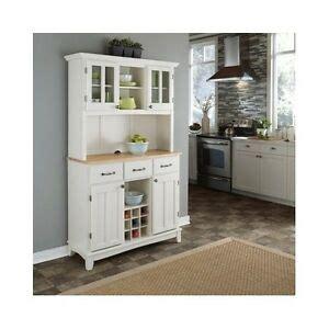 White Wood Wine Cabinet by White Kitchen Hutch China Cabinet Buffet Wood Storage