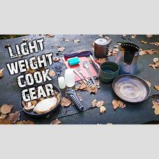 Camping  My Lightweight Backpacking Kitchen  Cooking