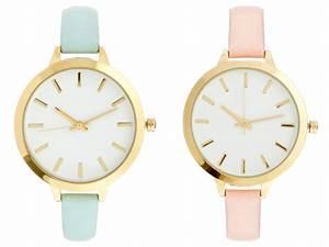 Montre A La Mode : montre pastel asos taaora blog mode tendances looks ~ Melissatoandfro.com Idées de Décoration