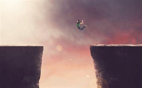 cliff jump