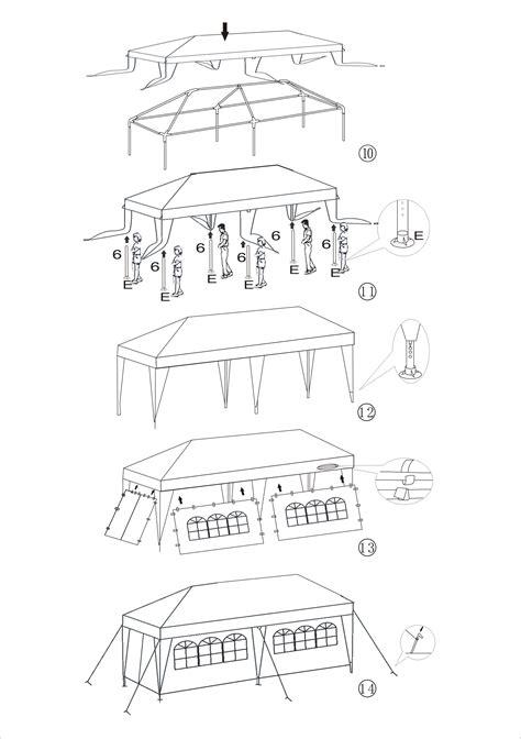aleko    white tent  outdoor party  storage