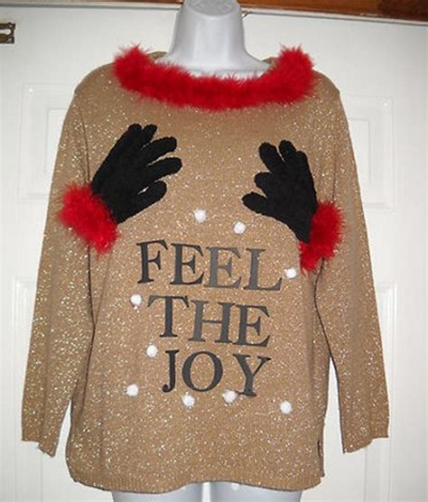 easy diy ugly christmas sweater ideas snappy pixels