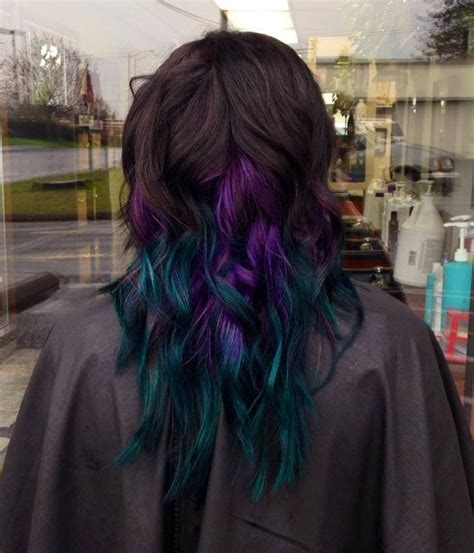 72 Best Images About Hair Colors On Pinterest Peacocks