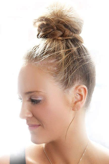 Twisted Knots Hairstyle by 15 Top Knot Hairstyles For Look Modish And