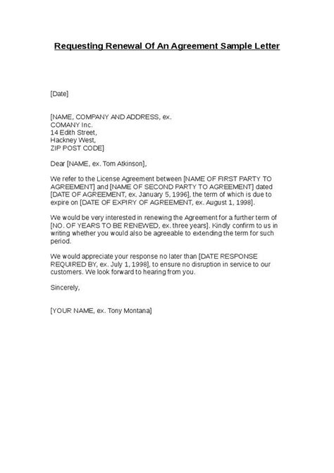 renewal letter sample icebergcoworking icebergcoworking