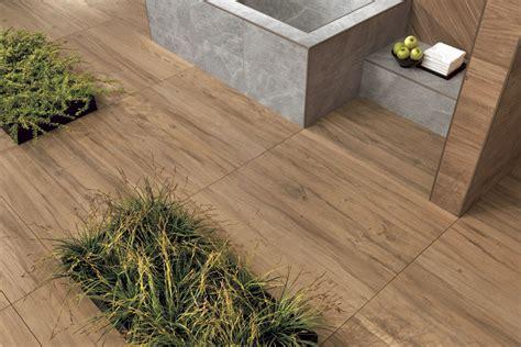 Terrassenplatten Holzoptik Eiche Großformat 30x120x2cm Bei