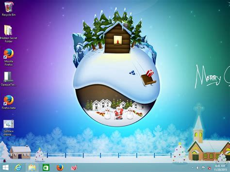 Christmas 2015 Theme For Windows 10, Windows 7 And Windows 8