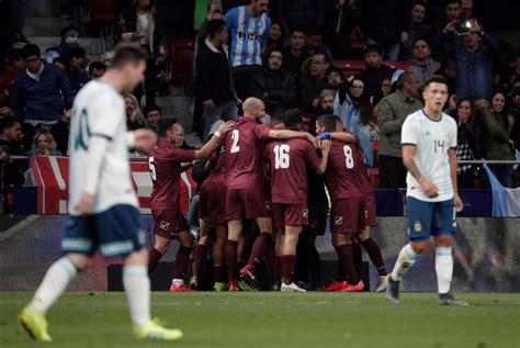 Lautaro Martinez Goal Not Enough As Argentina Lose 3-1