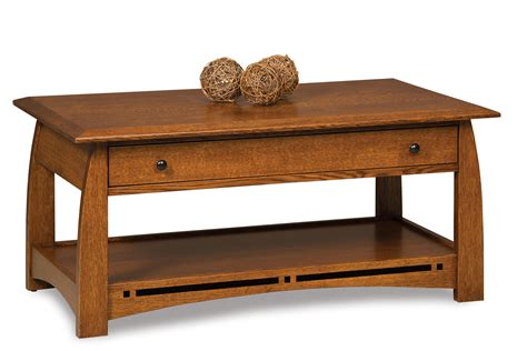 You can use the special requests box when booking, or contact the property. Boulder Creek Occasional Tables - Amish Furniture Store - Mankato, MN