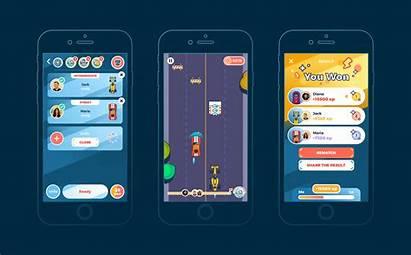 Ui Mobile Ux Racing Multiplayer App Case