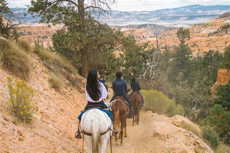 bryce canyon ride riding horseback trail rides through