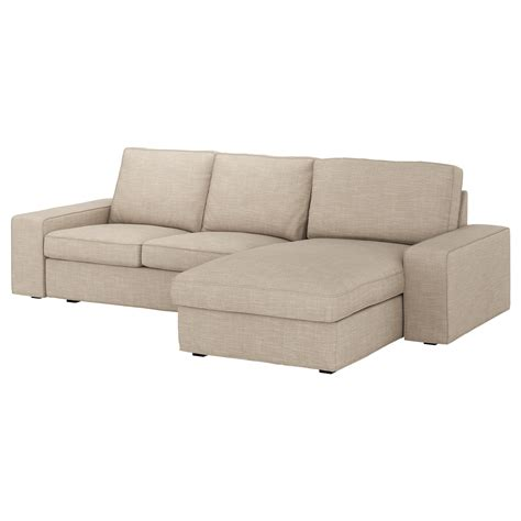 ikea canape kivik kivik 3 seat sofa with chaise longue hillared beige ikea