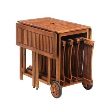 siege weldom table de jardin bois pliante