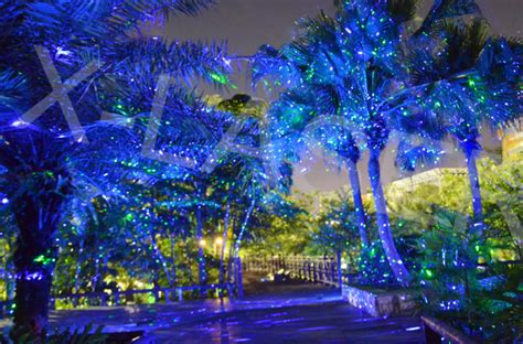 Laser Christmas House Lights by Blue Landscape Laser Light With Waterproof Outdoor
