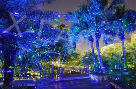 Blue Landscape Laser Light With Waterproof,outdoor