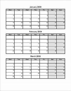 calendar template three months per page calendar pictures With calendar template 3 months per page