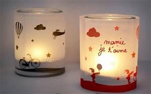 Fete Des Mere Cadeau : un photophore pour mamie le bricolage du mercredi les ~ Melissatoandfro.com Idées de Décoration