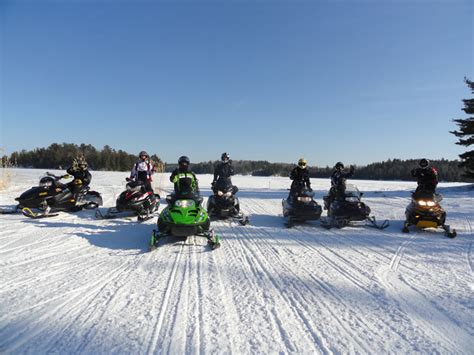 Boat Rental Age Minnesota by Minnesota Snowmobiling Vacation In Remote Voyageurs