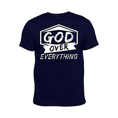 chrysolite designs god   print  shirt