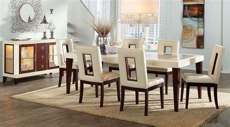 affordable contemporary dining room table sets  chairs