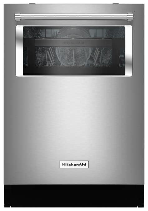 """Kitchenaid 24"""" Tall Tub Builtin Dishwasher Silver"""