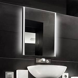 Raumausleuchtung Mit Led : krollmann badspiegel mit led beleuchtung und touch sensor 50 x 70 cm kristall spiegel ~ Markanthonyermac.com Haus und Dekorationen