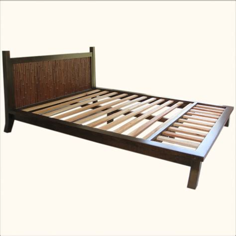 key west bamboo headboard queen size bed beds by