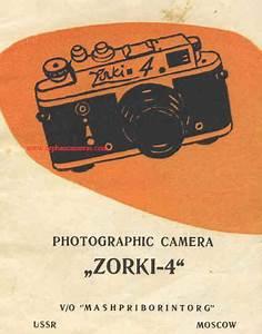 Zorki  Zorki 4k  Zorki 4 Instruction Manual  User Manual