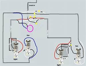 3 Wire Pull Chain Switch Diagram