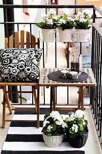 Ideen Für Kleinen Balkon : balkon ideen interessante einrichtungsideen kleiner balkons freshouse ~ Eleganceandgraceweddings.com Haus und Dekorationen
