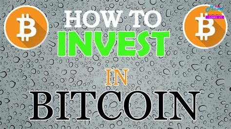 From the more popular coins, we support: How to Start Investment in Bitcoin For Beginners - Bitcoin Investment & Trading - YouTube