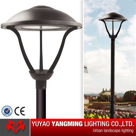 60w led gardeb post top fixture china garden light
