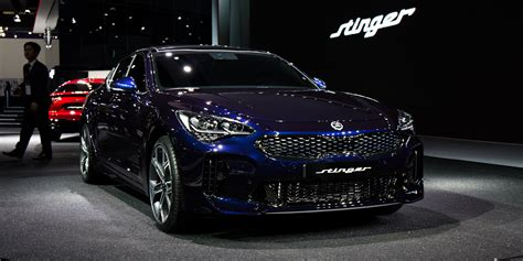 kia stinger  branding  contentious move