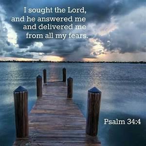 Psalm 34:4   My Faith   Pinterest
