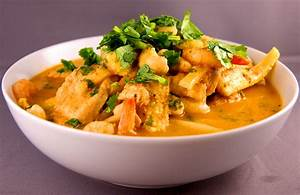 Thai Red Curry with Chicken and King Prawns OnMyPlate co uk