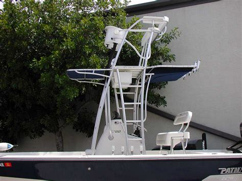 Boat Half Tower For Sale by Custom Flats Boat And Bay Boat Towers By Action Welding