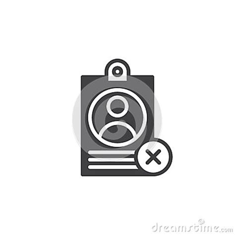 personal badge   mark icon vector stock vector