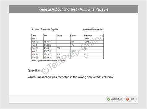 Practice for the Kenexa Prove It Accounting Test - JobTestPrep