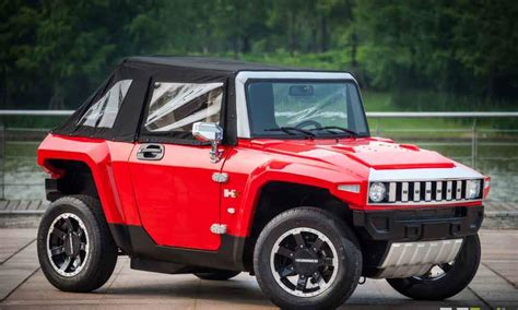 Businessman Plans To Produce Mini Electric Hummer In