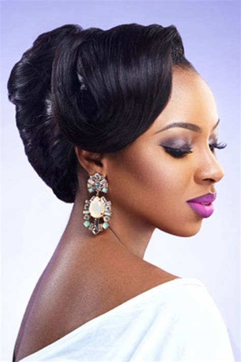 wedding hairstyles for black women american wedding haircuts