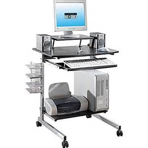 Techni Mobili Desk Staples by Techni Mobili Space Saving Computer Desk Espresso Staples 174
