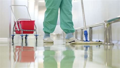 stock video clip  floor care  cleaning services