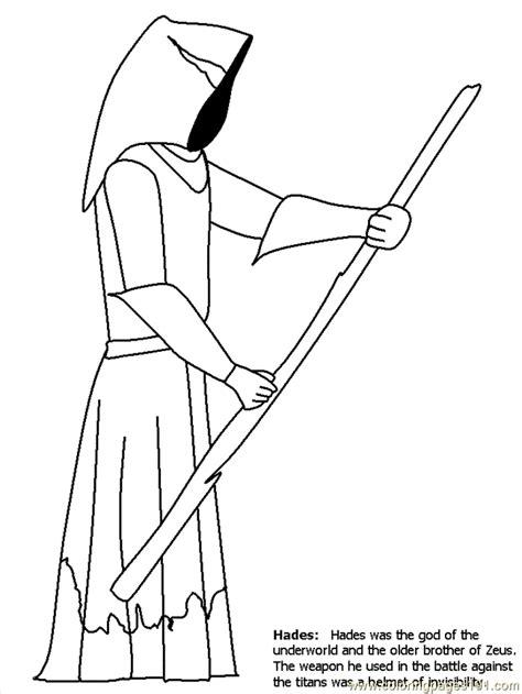 greek mythology coloring page  greek mythology