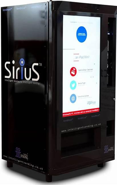 Vending Intelligent Machine Sirius Machines Touchscreen Ltd