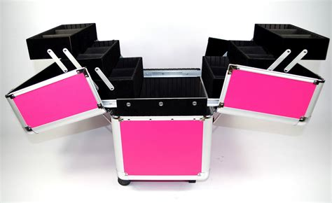 professional aluminium beautician makeup trolley beauty