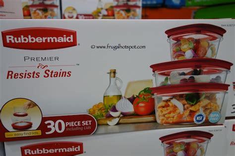 Rubbermaid 30 Piece Premier Food Storage