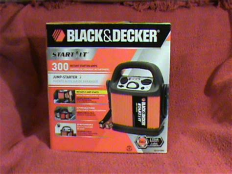 richdavis black decker start   jump starter